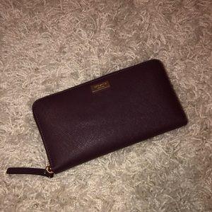 Burgundy Kate spade wallet